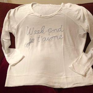 "Sundry ""I love the weekend "" sweatshirt"